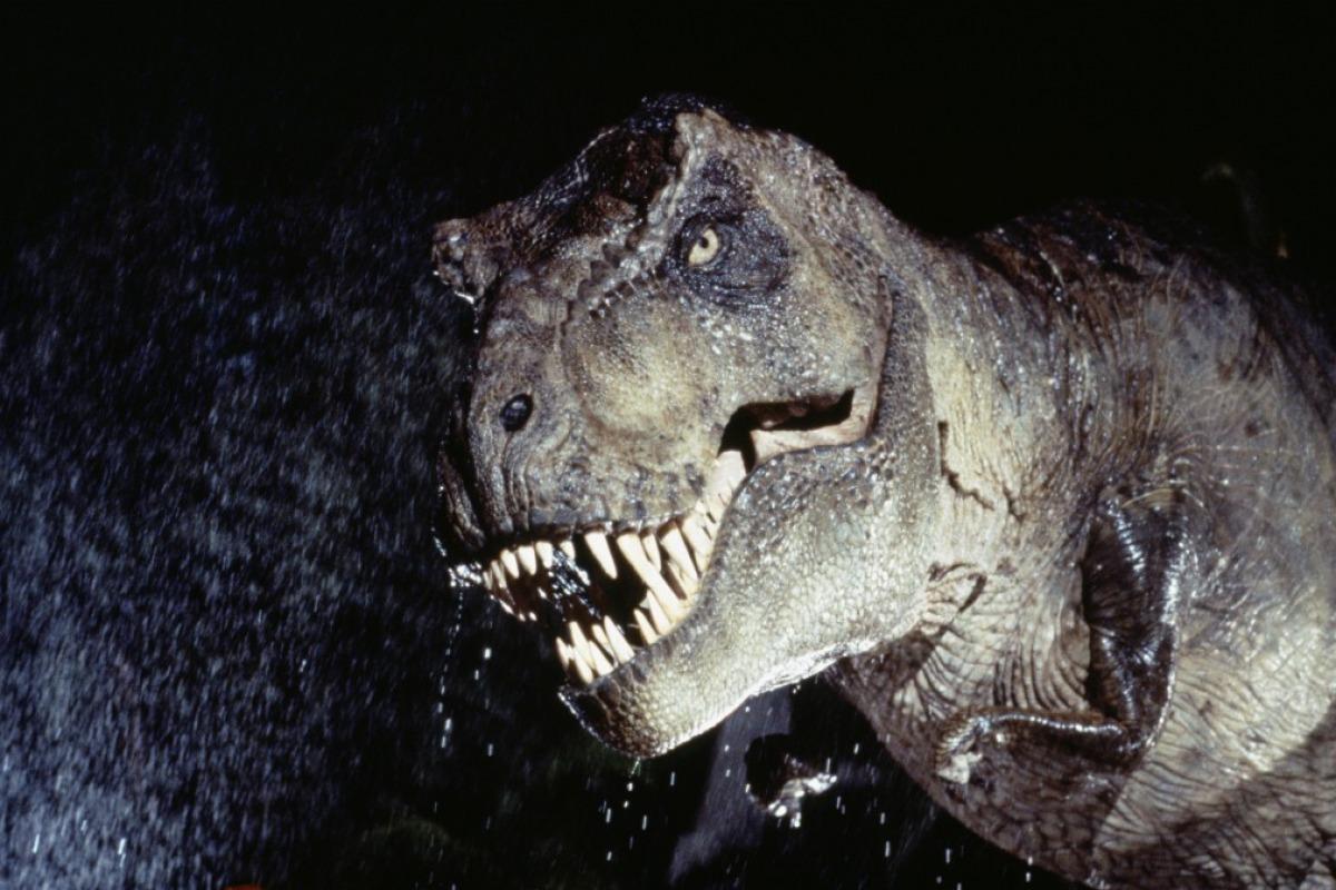 Jurassic Park T Rex Roar How Tyrannosaur...