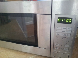 Microwave by itself