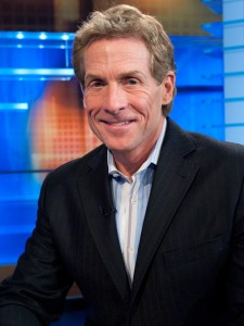 Literally the only photo on the internet of Skip Bayless not doing anything stupid