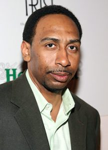Always so much joy in the world of Stephen A. Smith