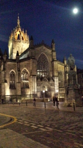 John Knox fought a lot of people at St. Giles, I bet